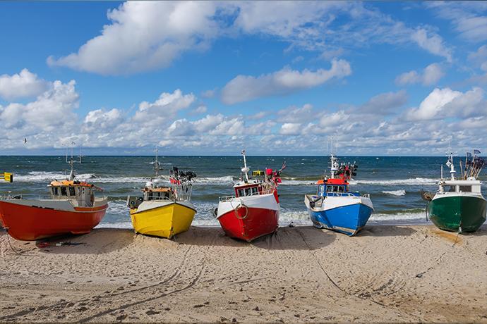 Polskie plaże bez tłoku - Chłopy