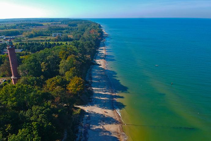 Polskie plaże bez tłoku - Gąski