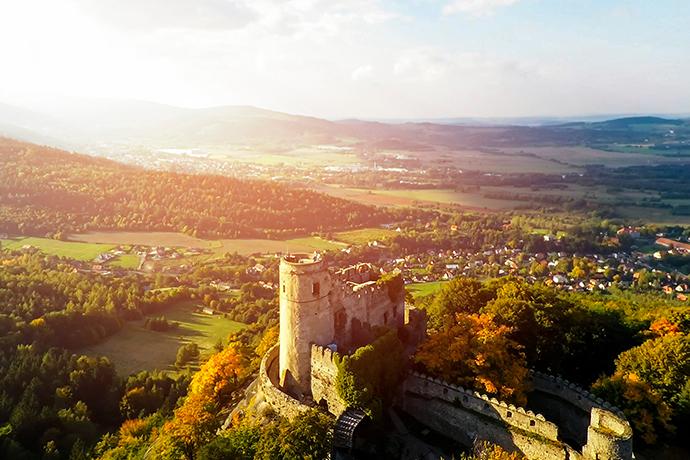 Największe atrakcje Karkonoszy - zamek Chojnik