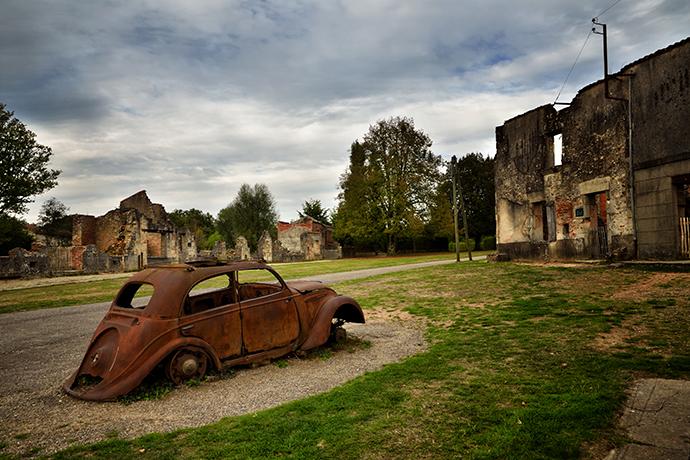 Ranking strasznych miejsc w Europie - Oradour-sur-Glane, Francja