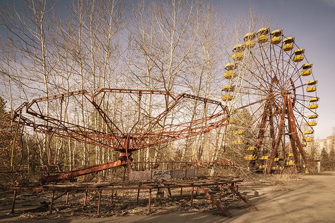 Ranking strasznych miejsc w Europie - Park rozrywki w Prypeci, Ukraina