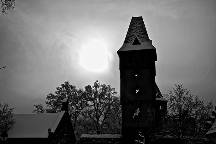 Ranking strasznych miejsc w Europie - Zamek Frankenstein, Darmstadt, Niemcy