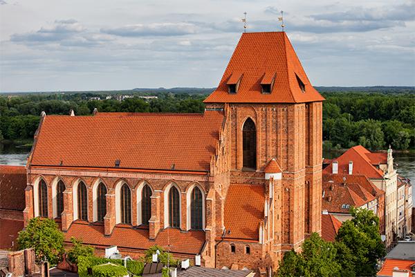 Atrakcje Torunia - Katedra Świętojańska