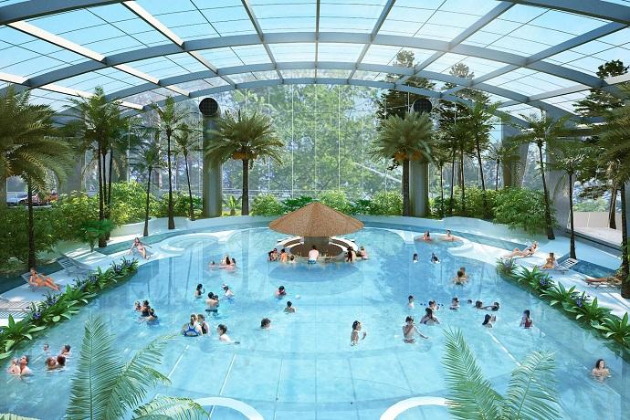 Najlepsze aquaparki w Polsce - Baseny tropikalne Binkowski Resort