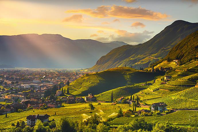 Włoskie Alpy - Bolzano