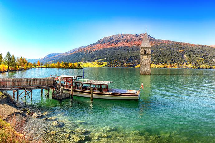 Włoskie Alpy - jeziora