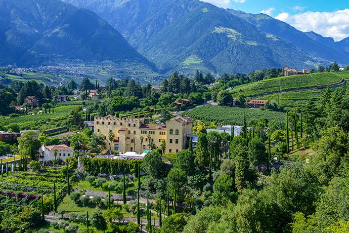 Włoskie Alpy - Merano