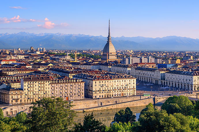 Włoskie Alpy - Turyn