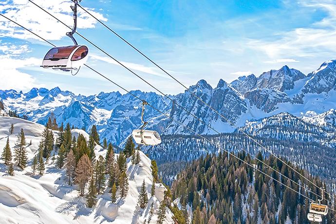 Włoskie Alpy - alpejskie kurorty