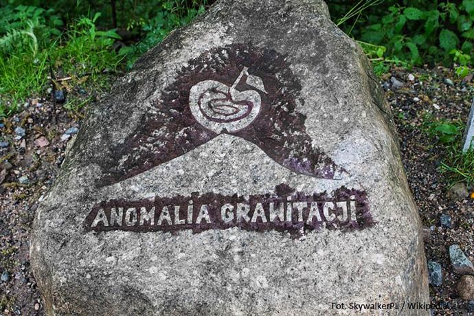 Oryginalne podróże - anomalia grawitacji w Karpaczu