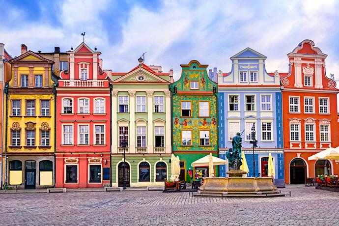 Najbardziej kolorowe miejsca w Polsce - Poznań