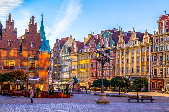 Najbardziej kolorowe miejsca w Polsce - Wrocław