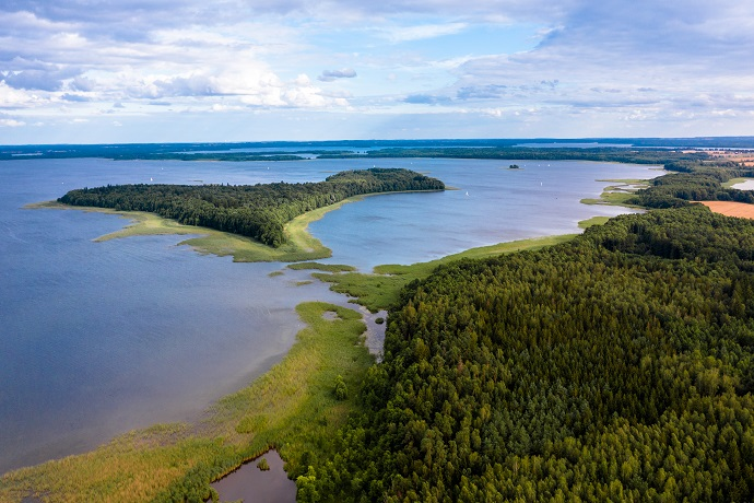 Poznaj Polskę z Travelist: Mazury - Wyspa Upałty