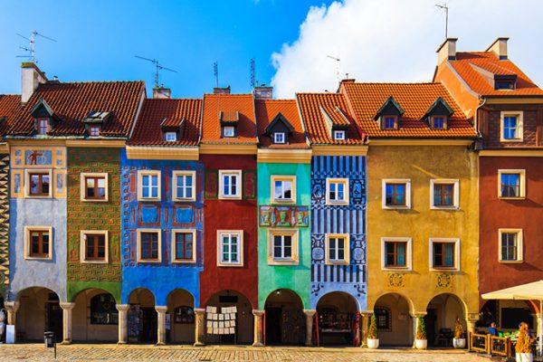 Najbardziej kolorowe miejsca w Polsce