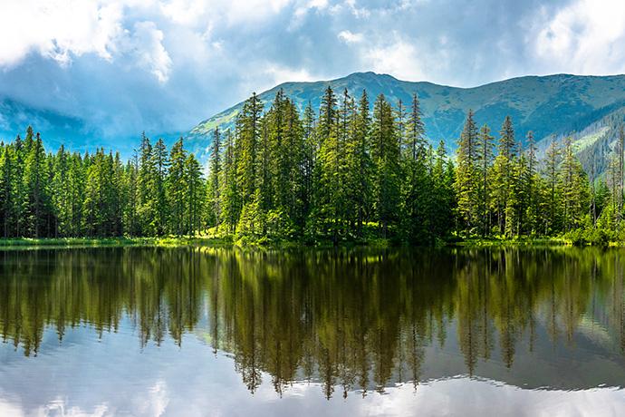 Górskie jeziora - Smreczyński Staw
