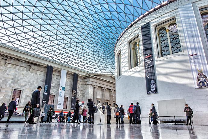 Wirtualna wizyta w muzeum - Muzeum Brytyjskie