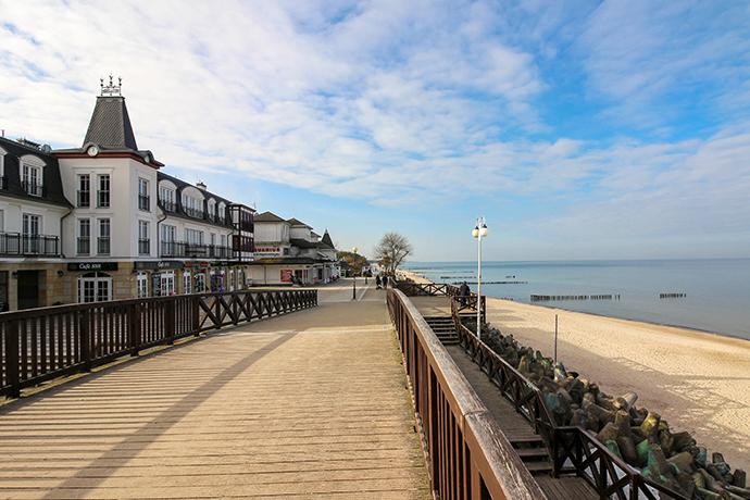 Promenady nad Bałtykiem - Mielno