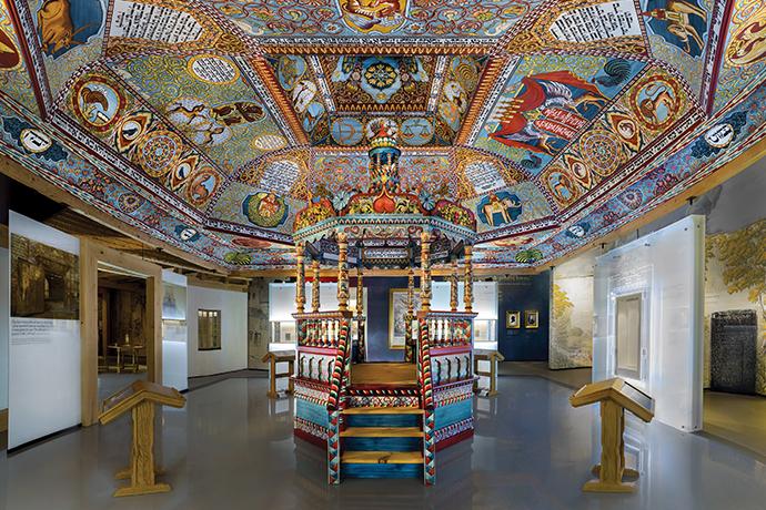 Wirtualna wizyta w muzeach i miejscach kultury w Polsce - POLIN