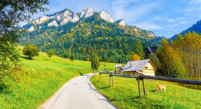 Najpiękniejsze parki narodowe - Pieniński Park Narodowy