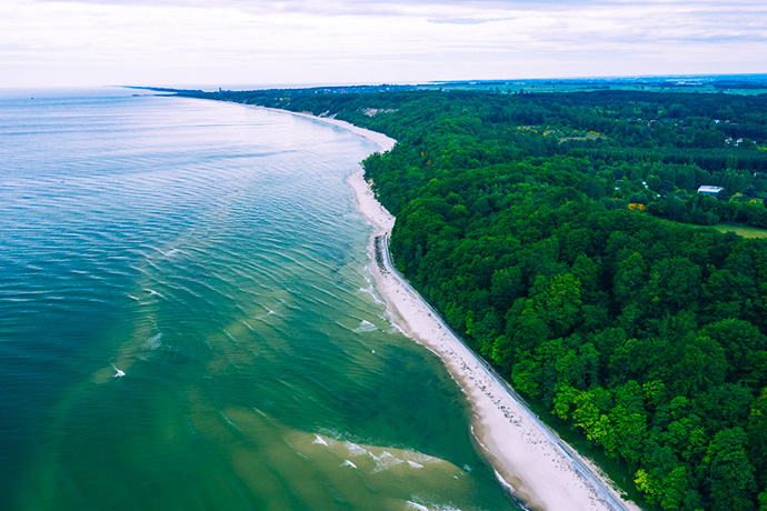 Poznaj Polskę z Travelist - morze